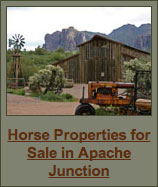 Horse Properties for Sale in Apache Junction